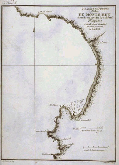 map of monterey bay