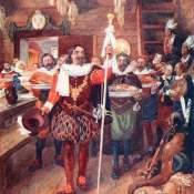 78-Samuel de Champlain Explores the Coast