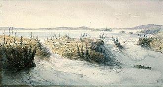 330px-Chaudière_Falls_1838