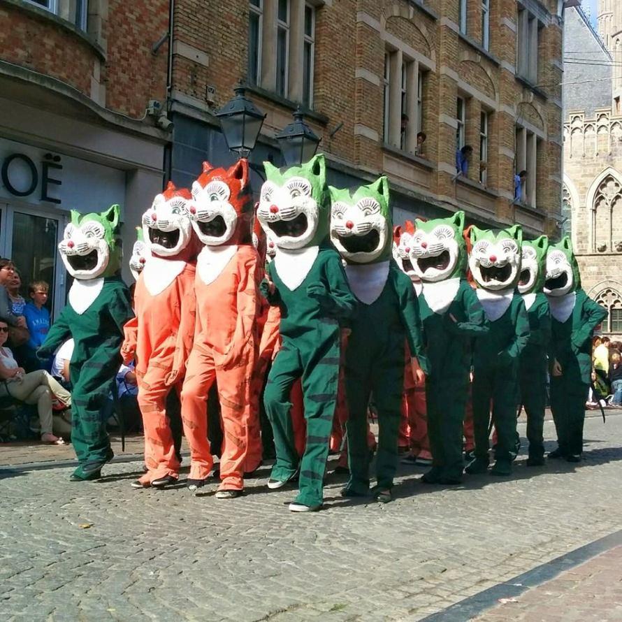 Ypres Cats Parade