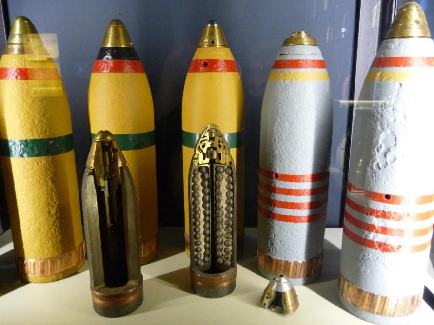 World War One shells