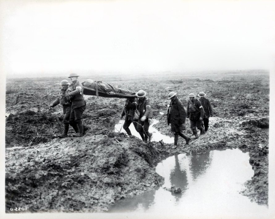 Second_Battle_of_Passchendaele_-_wounded