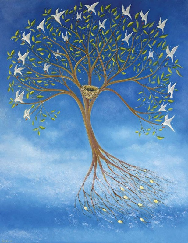 The Flying Tree par Tone Aanderaa