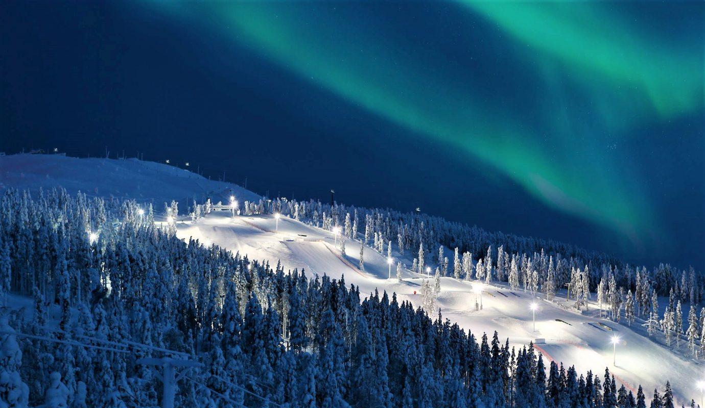 Levi Skizentrum Kittil 228 Discovering Finland