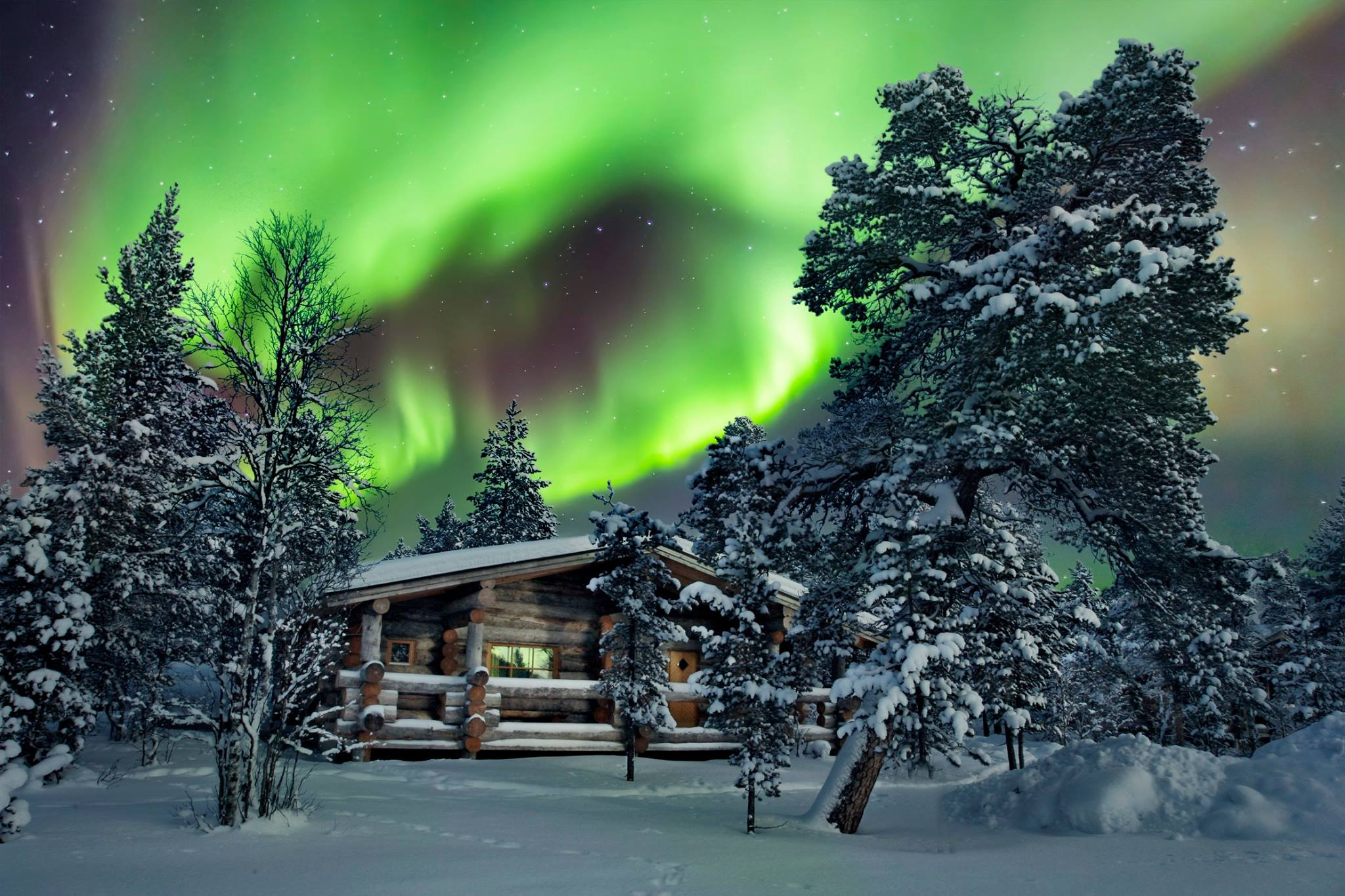 Kakslauttanen Northern Lights