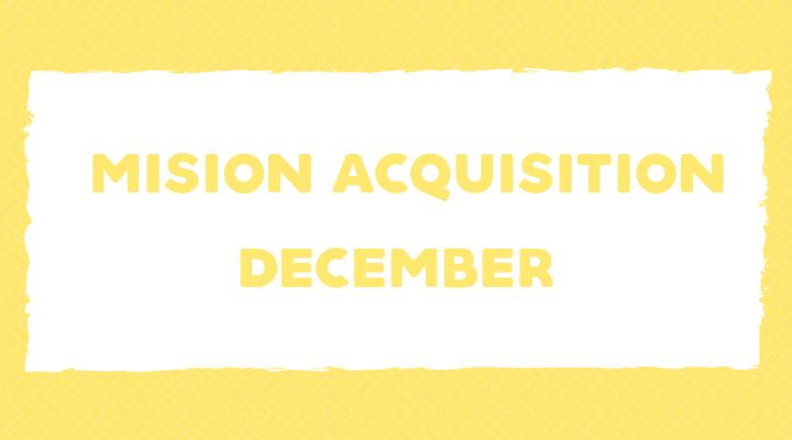 December Language Goals & More!