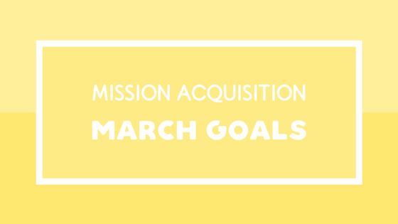 Mission Acquisition March 2018