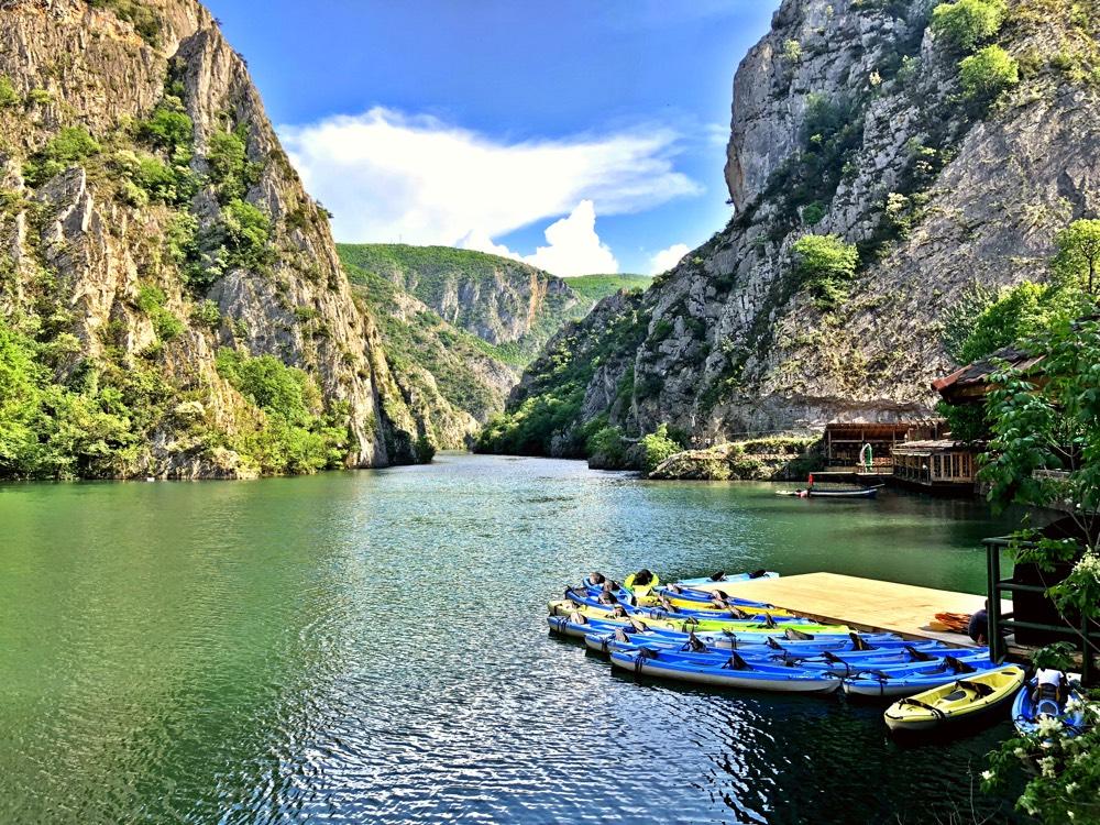 Canyon Matka - A nature paradise near Skopje - Discovering Macedonia