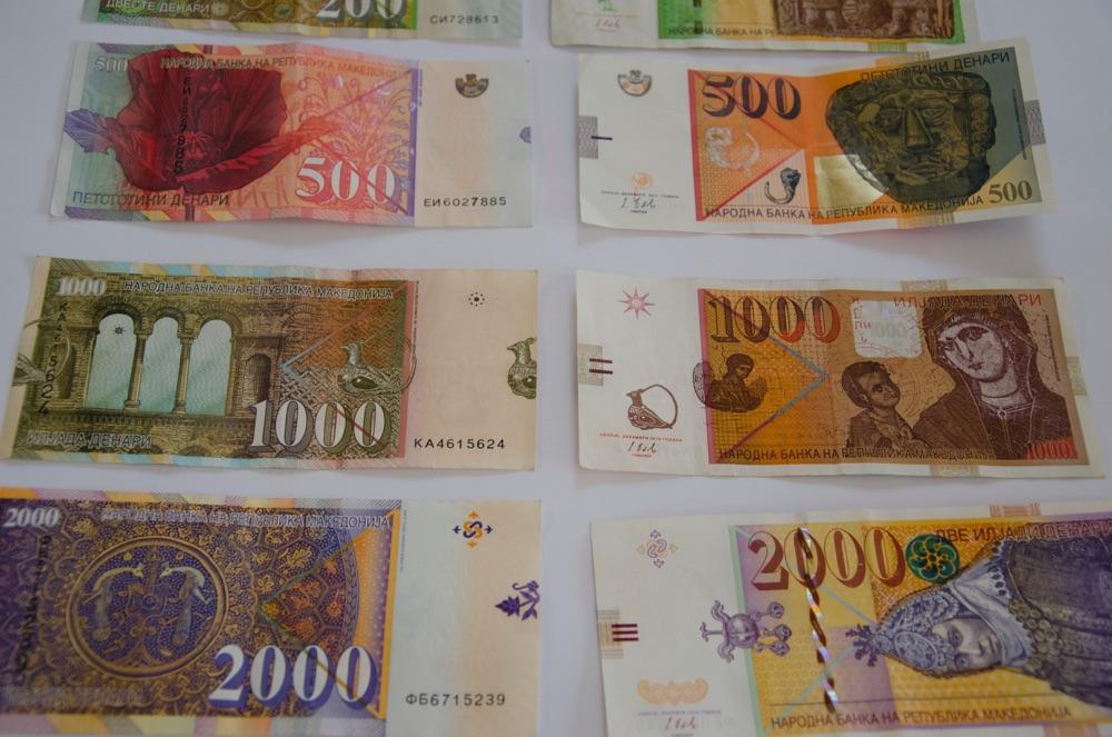 macedonian currency - denars