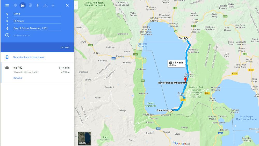 Ohrid Lake Coastline