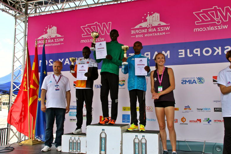 Wizz Air Marathon Skopje Winners