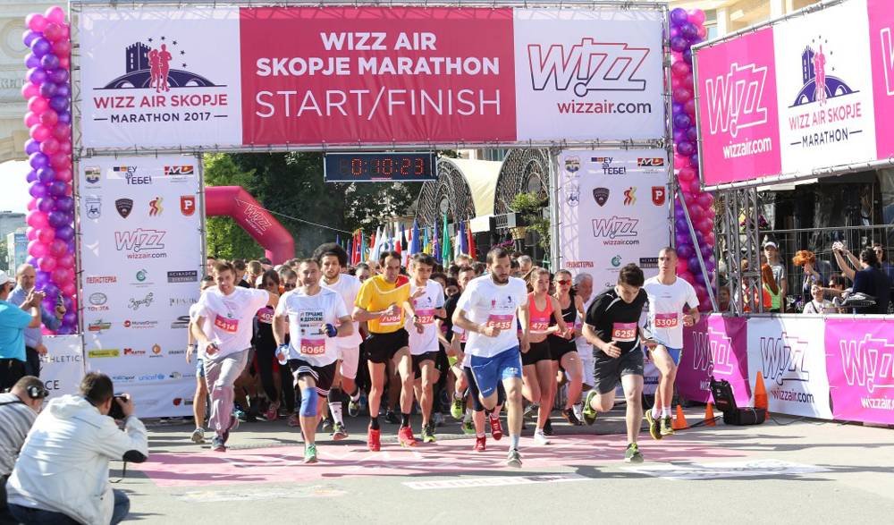Wizz Air Skopje City Marathon