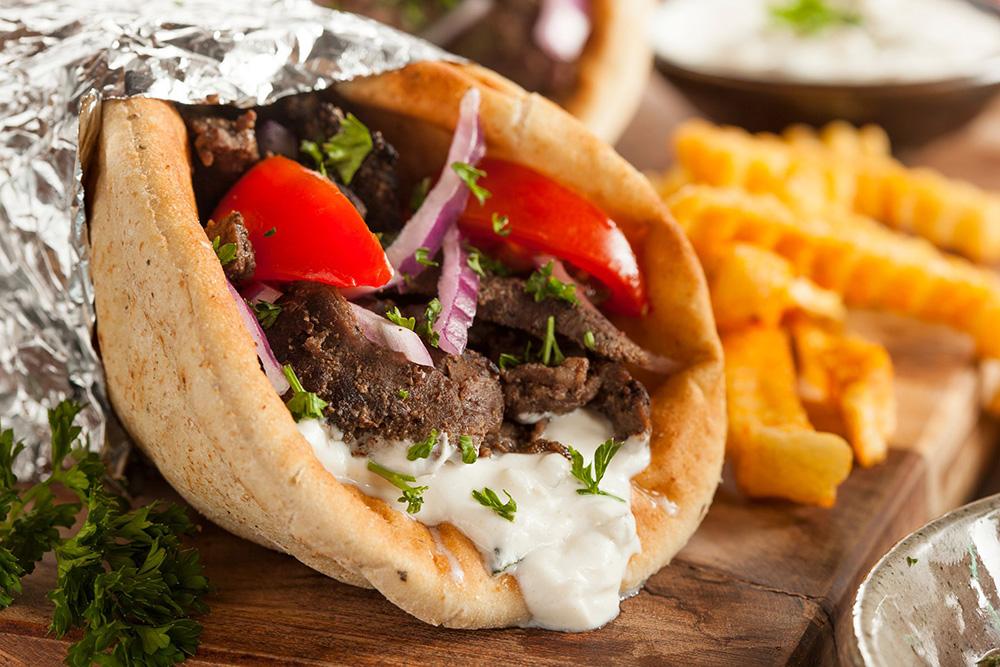 Fast Food Skopje Gyro