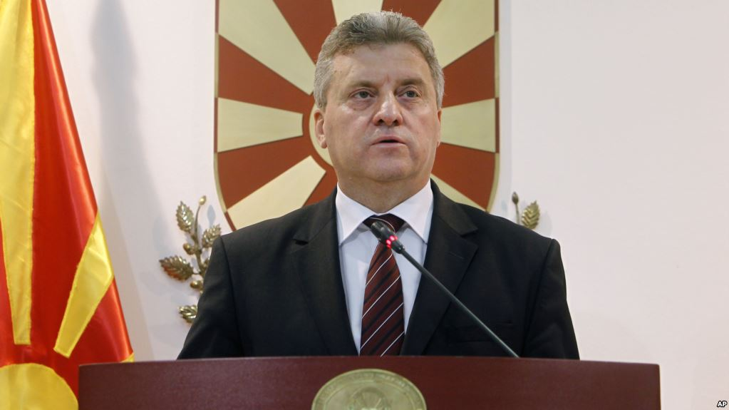 Gjorge Ivanov President