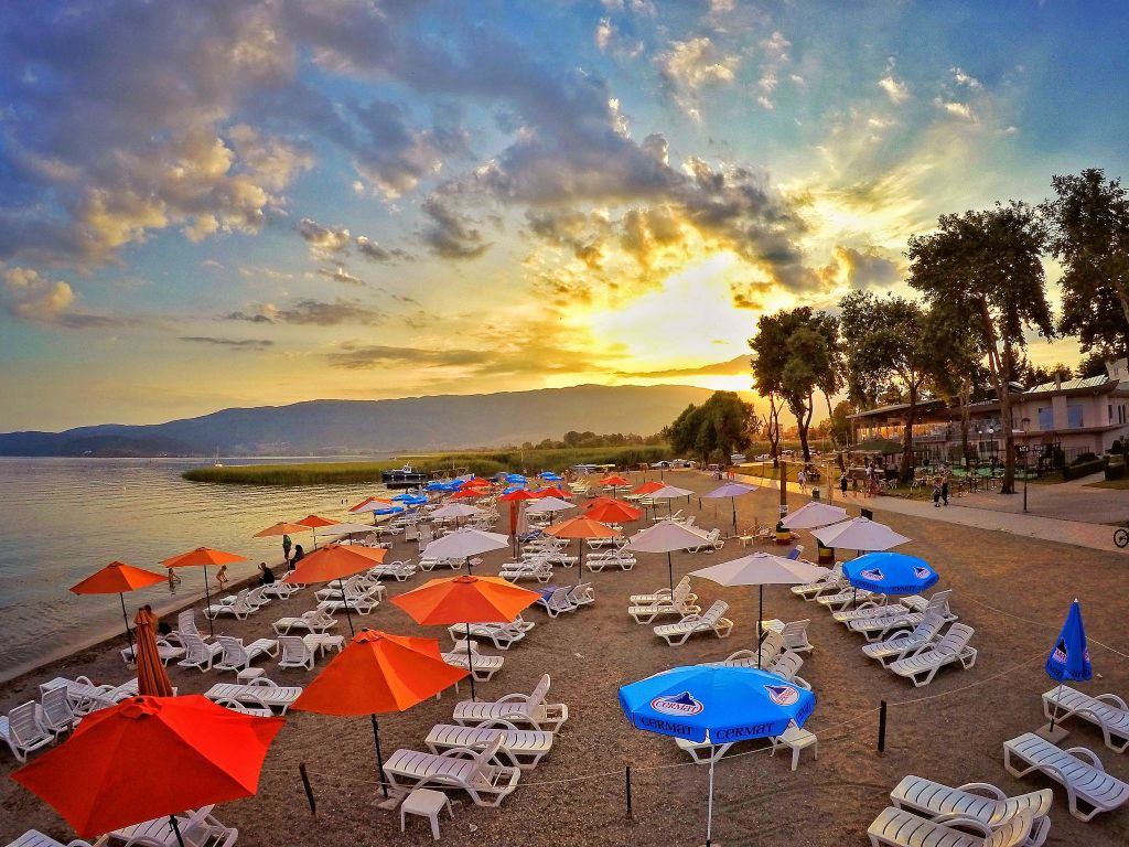 Ohrid Beaches