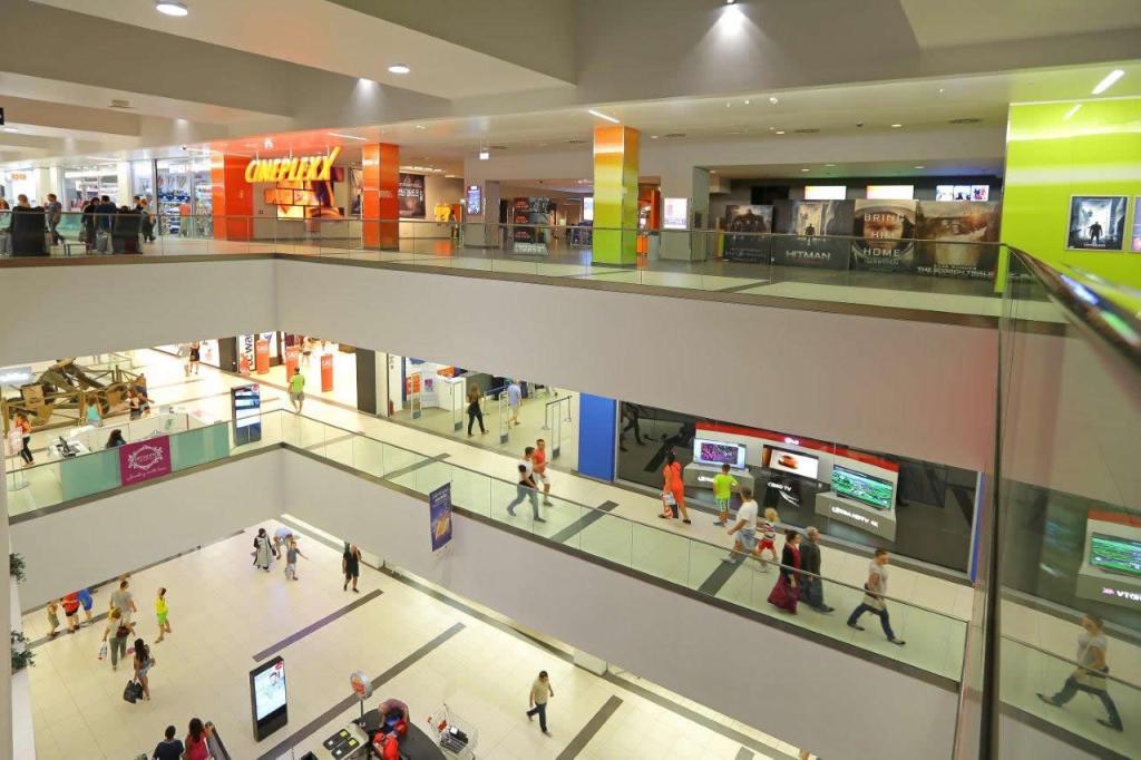 Skopje City Mall Inside 2