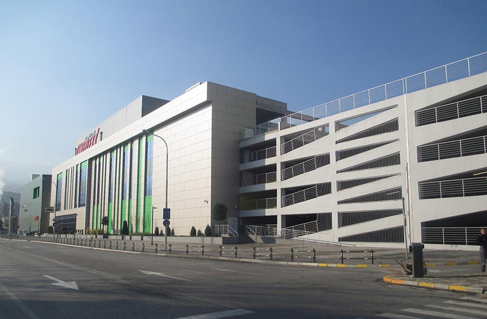 Skopje City Mall Parking