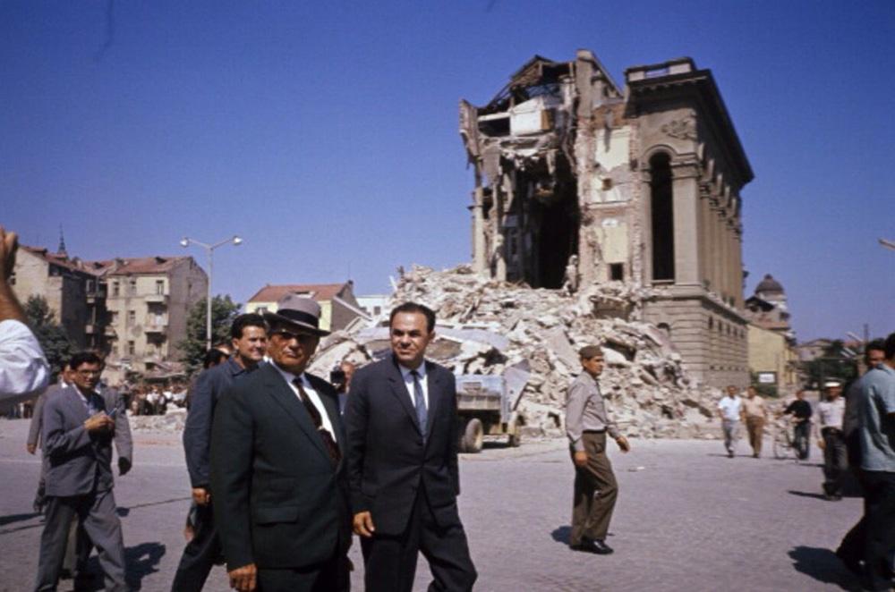 Skopje Earthquake Tito