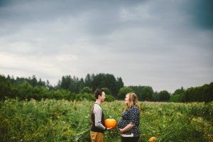 Our fall themed maternity photos