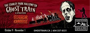 Ghost Train in Stanley Park {Giveaway}
