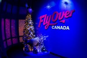 Christmas at FlyOver Canada {Giveaway}