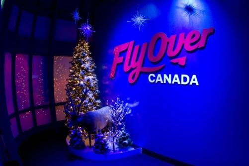 FlyOver Canada Christmas Ride