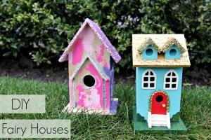 DIY Fairy Houses