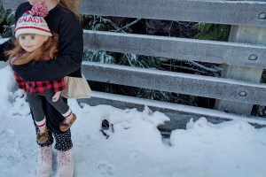Adventuring with our Maplelea Doll