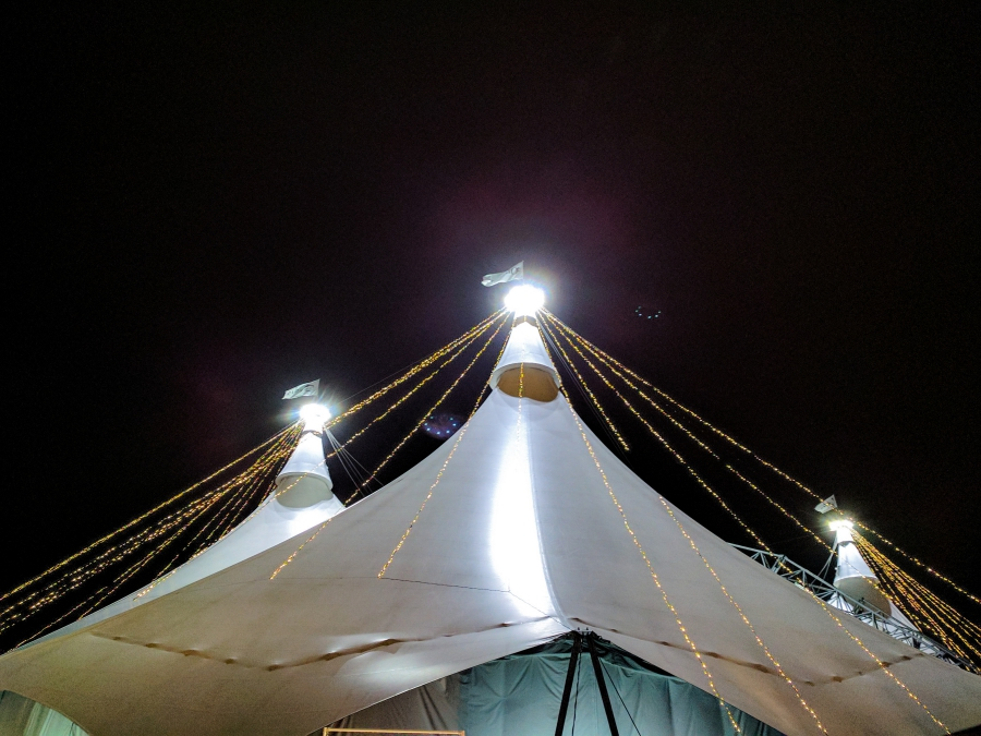 The Big White Top, Cavalia Odysseo in Vancouver