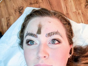 Microblading at Bee Pampered {review + giveaway}