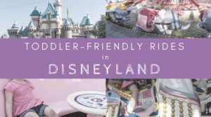 What Rides Can A Toddler Go On In Disneyland?