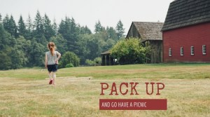 Pack Up and Go For A Picnic