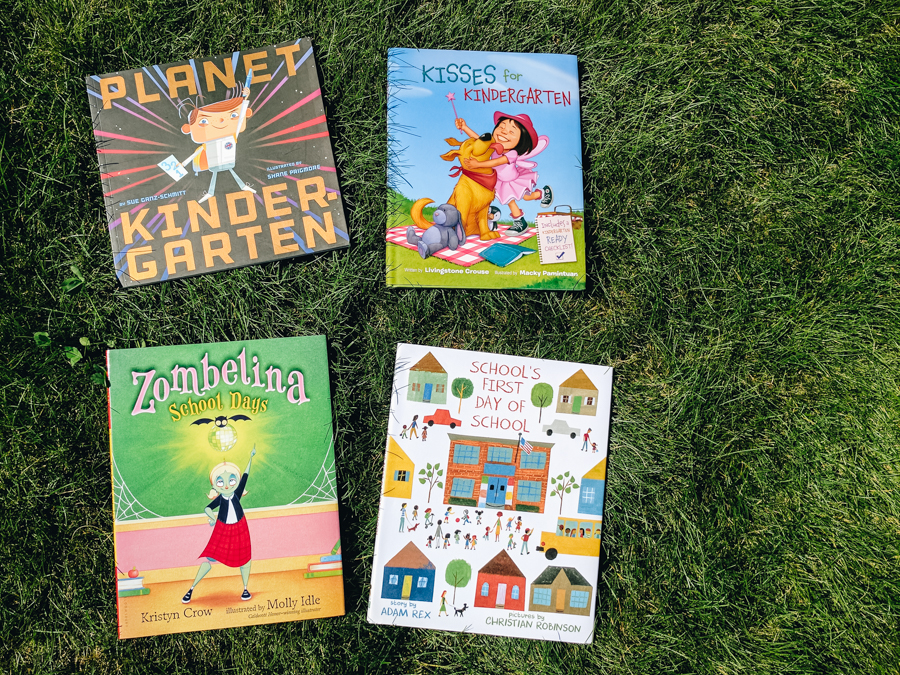 Back to school and first day of Kindergarten. Book review. Book giveaway. Raincoast Books.