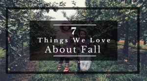 7 Things We Love About Fall