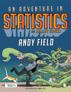 Cover of An Adventure in Statistics