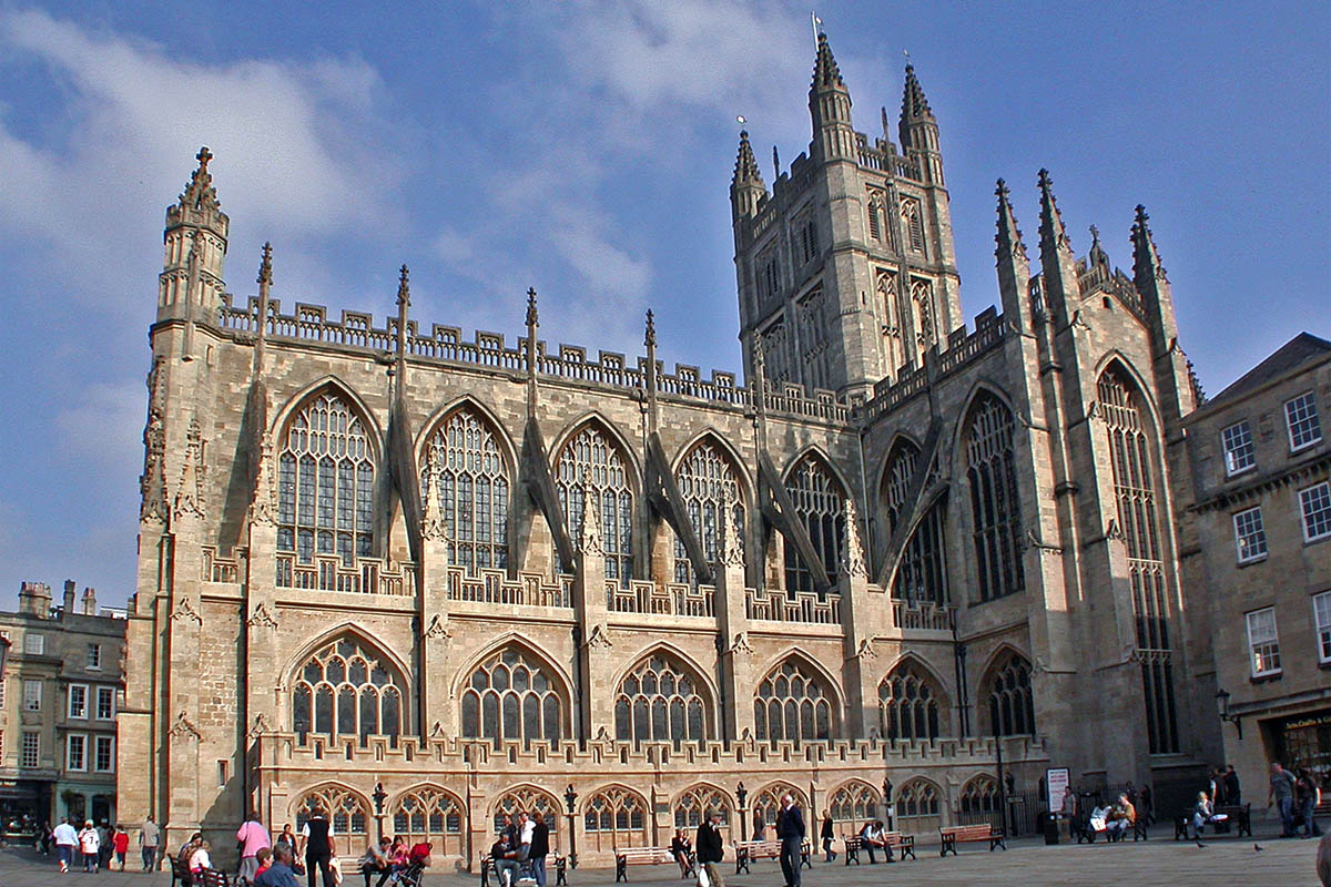 Discover London - Day Tours from London - Bath Abbey