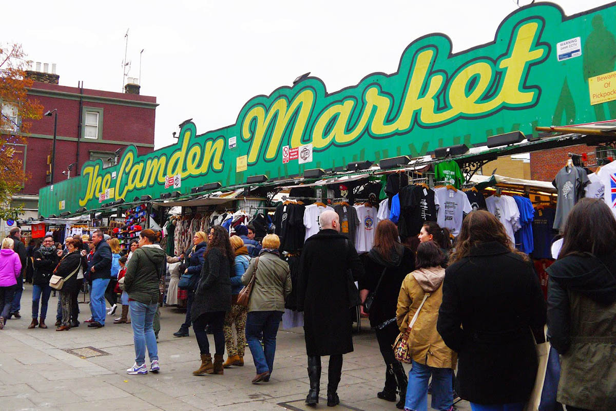 Discover London - Half day tours - Camden Market