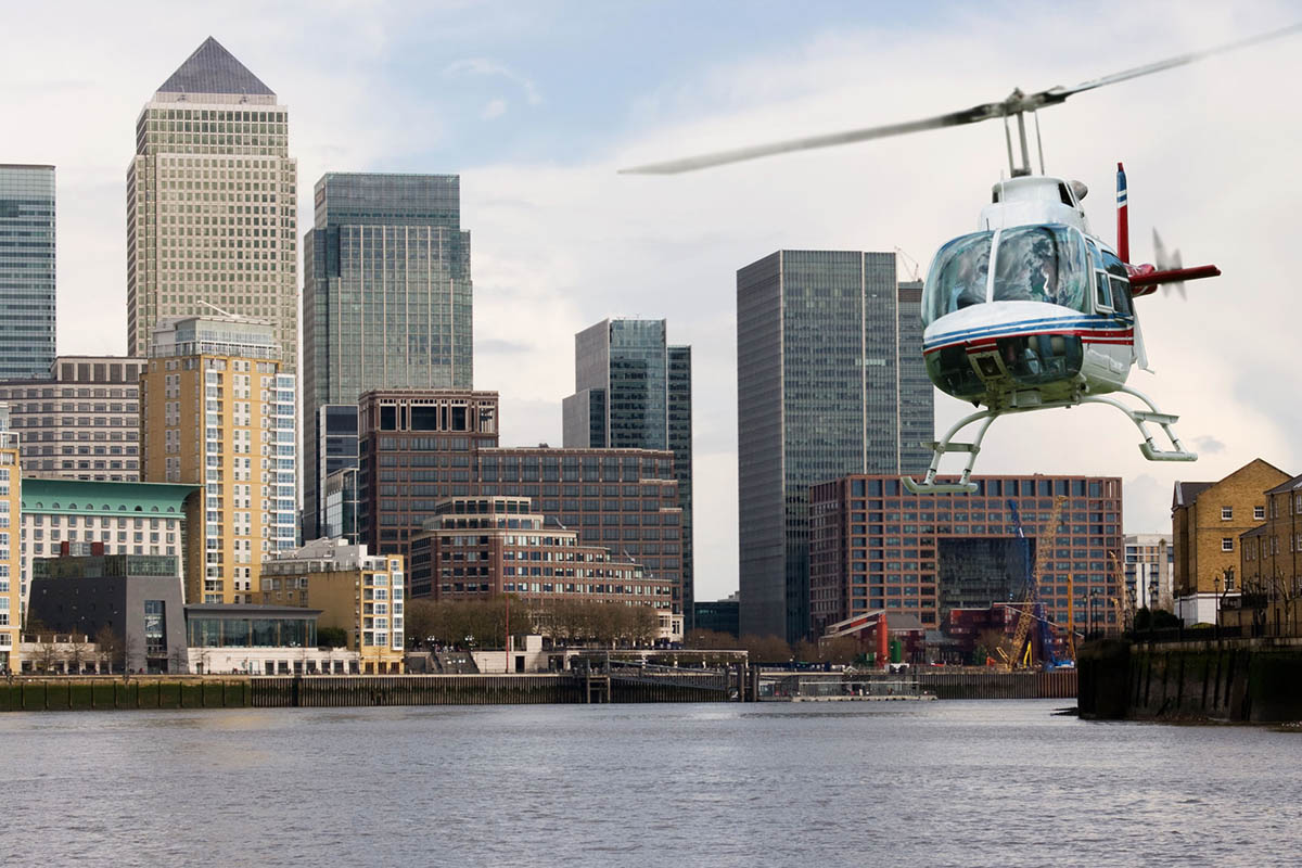 Discover London - VIP tours - Private helicopter sightseeing