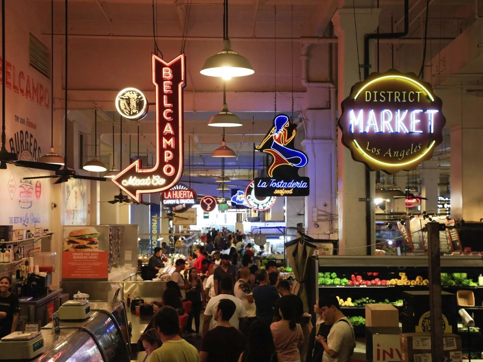 Best Places Eat Downtown La