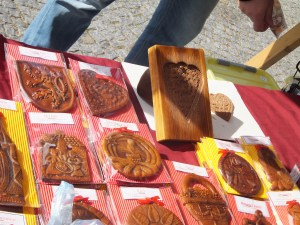 Traditional Gingerbread and a hand-carved mold at Valtice Wine Festival