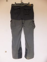 Bear Grylls Craghopper trousers. Front view.