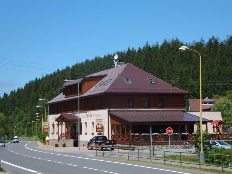 About 4 km from the campsite, you can find this excellent hotel and restaurant, the Hotel Valaška. Czech camping.