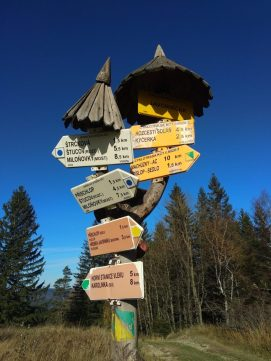 Hiking Czech Republic, Beskydy Mountains, Velky Javornik