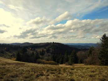 Hiking Czech Republic, Beskydy Mountains, Velky Javornik