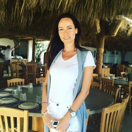 Our beautiful hostess Maria