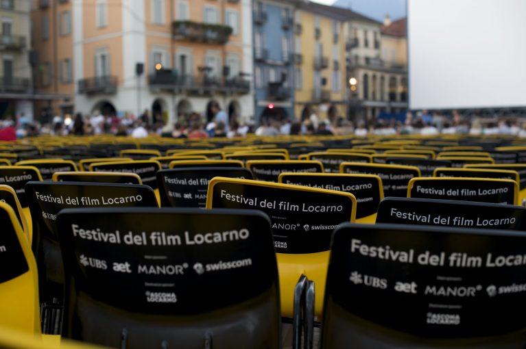 The Piazza at the Locarno Filmfestival