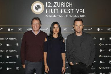 Producer Gary Lucchesi, actress Jennifer Connelly and actor Ewan McGregor
