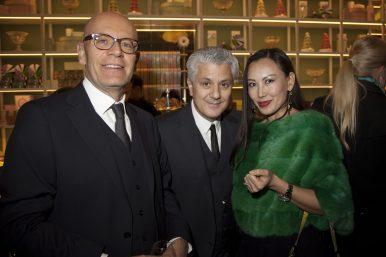 Nicolas Salloun, Carlo Truggenberger & Jenny Salloun