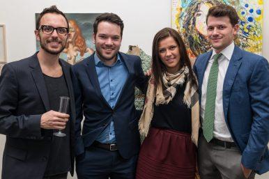 Alessandro, Raphael Frey, Benjamin Schmitt & girlfriend