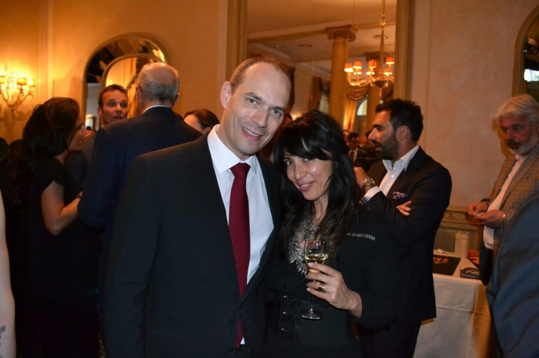 General Manager Christophe Hilty from Le Richemond Geneva and I